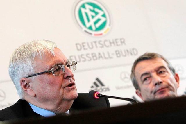Schlammschlacht beim Deutschen Fußball-Bund