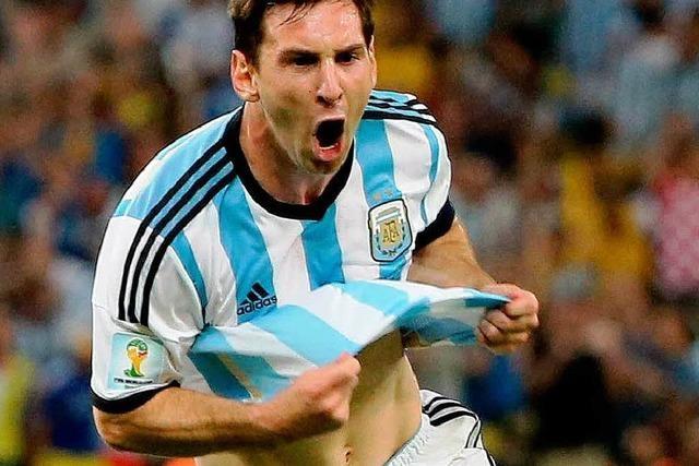 Argentinien gewinnt gegen Bosnien-Herzegowina 2:1