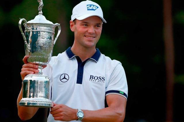 Golf-Profi Kaymer gewinnt als erster Deutscher die US-Open