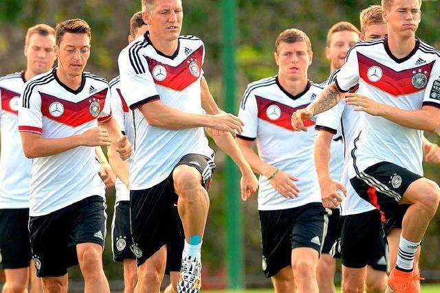 Spielstrategie zum Sieg: Für die deutsche Elf beginnt die WM