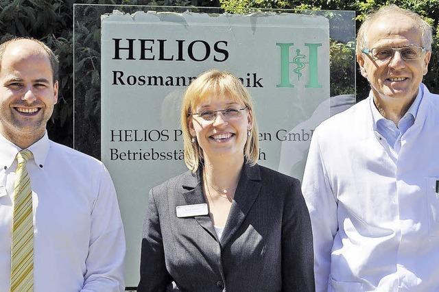 Bernhard Walter ist neuer Ärztlicher Direktor der Breisacher Helios-Rosmann-Klinik