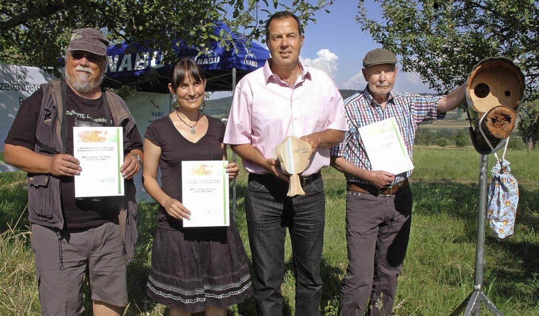 Auszeichnungen für die Naturschützer  | Foto: Regine Ounas-Kräusel