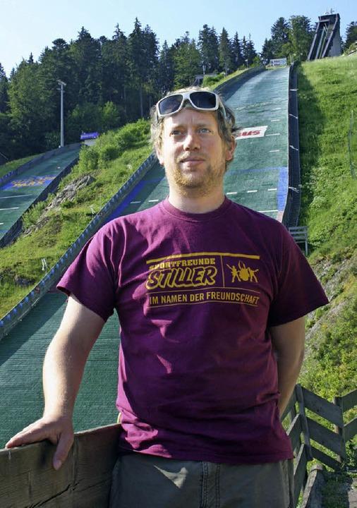 Michael Lais ist seit einem Jahr Schanzen-Koordinator im Adler-Skistadion.    | Foto: DIETER MAURER