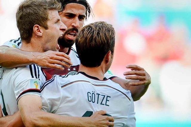 Wucht, Witz und Müller: Deutschland schlägt Portugal mit 4:0