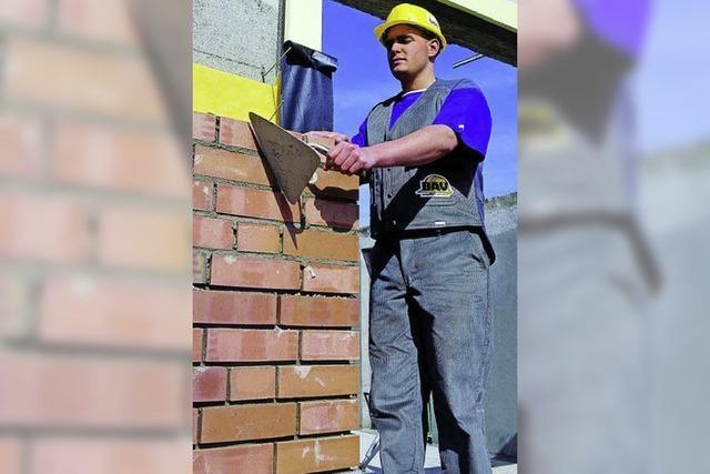 Viel Arbeit in den Bauberufen