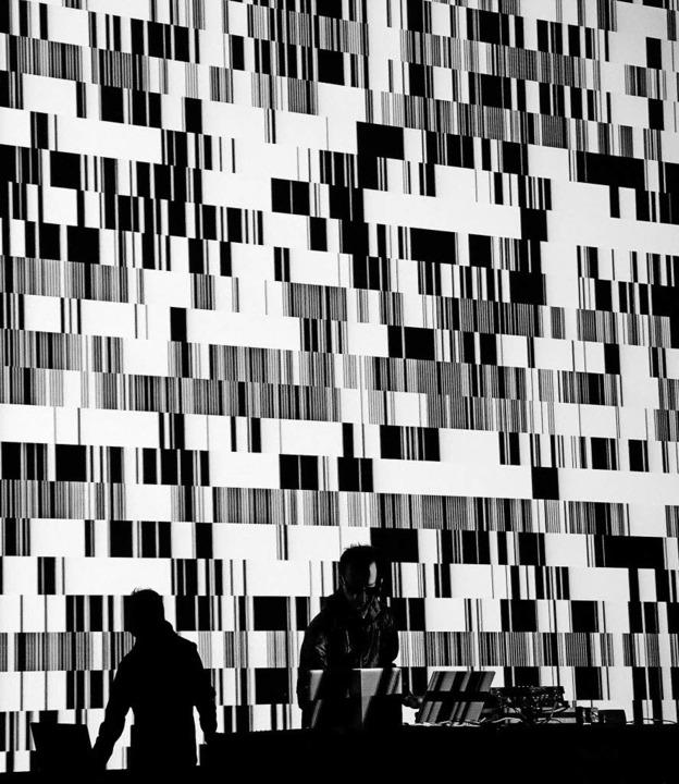 "Ryoji Ikedas ""Test Pattern""   | Foto: Liz Hingley"