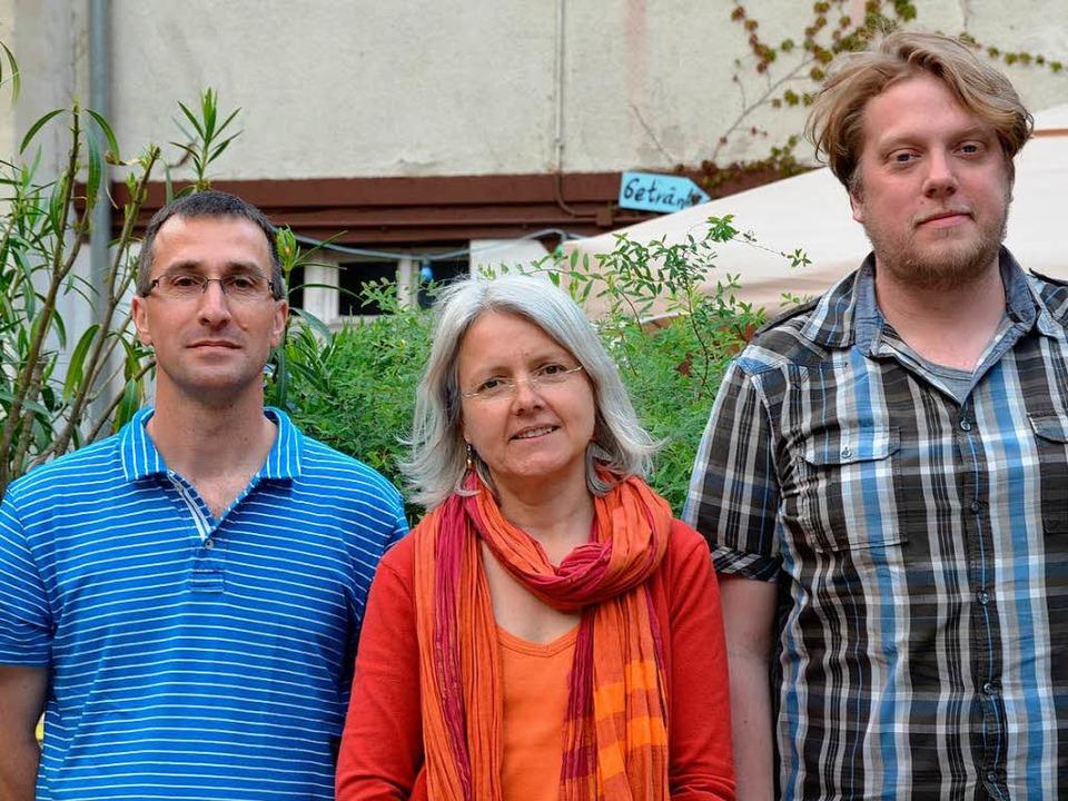 Der Dreiervorstand: (von links) Martin Sauereisen, Anne Christoph, Markus Graf  | Foto: Julia Gross