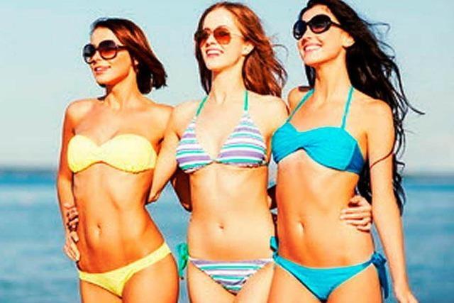 Der passende Bikini für jede Figur