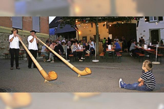 Lauschiges Open-Air-Fest