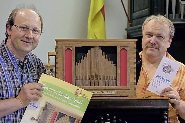 Hauptgewinn ist eine Orgel