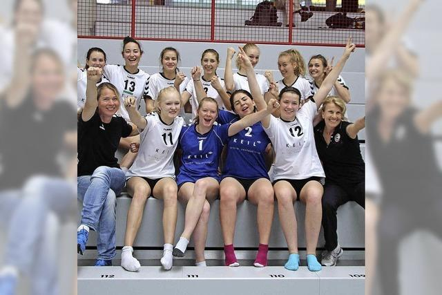 Volleyball-Mädchen holen dritten Platz