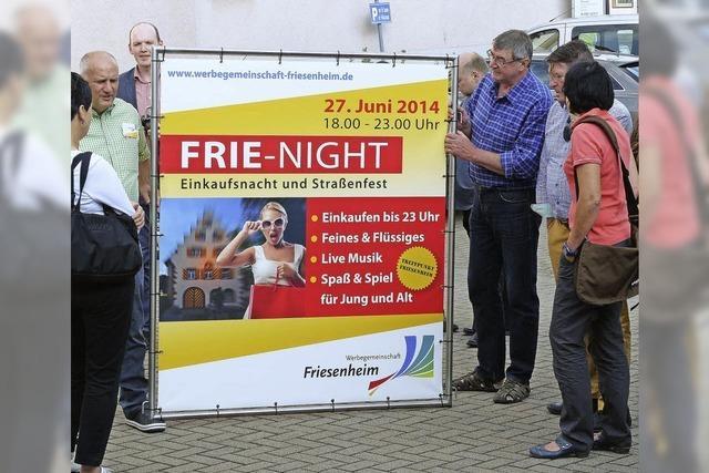 Wieder mal durch Friesenheim flanieren