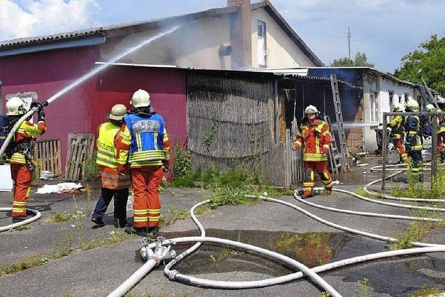Brand in Wallbach endet glimpflich