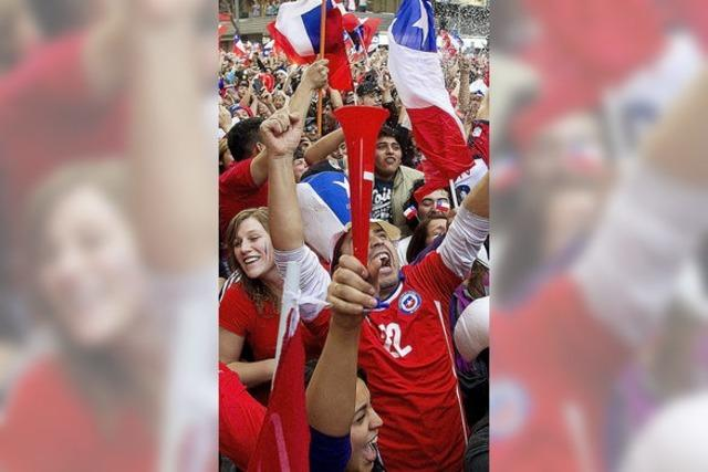 Chile sorgt mit zwei Toren für das WM-Aus von Titelverteidiger Spanien