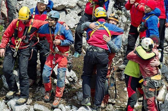 Die Rettung des Höhlenforschers Johann Westhauser ist geglückt