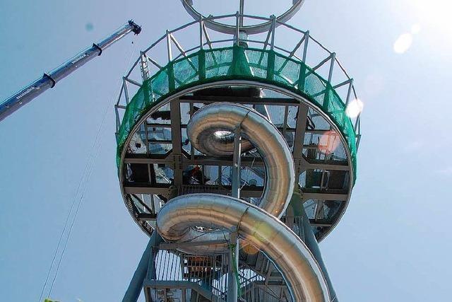 Erlebniskunst: Der Slide-Tower auf dem Vitra-Campus