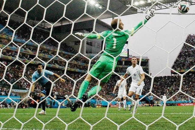 Uruguay besiegt England 2:1 – Briten vor dem Aus