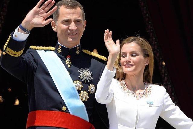 Königswechsel: In Spanien regiert nun Felipe