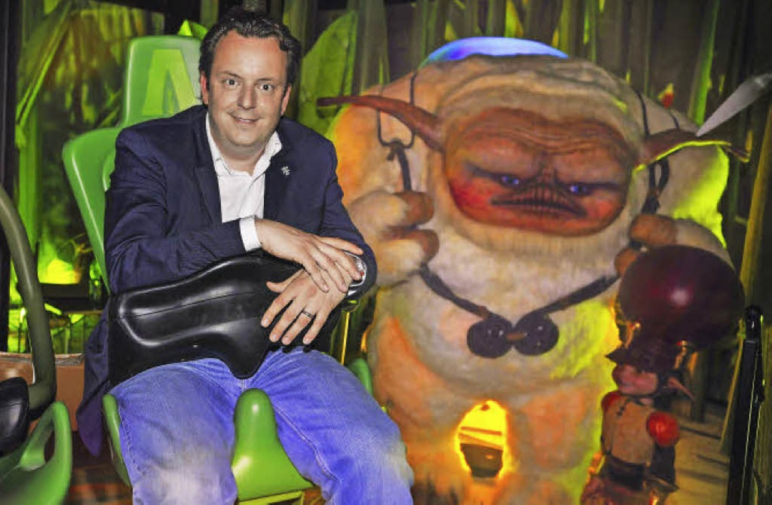 "Michael Mack, Chef von Mack Media,  in...neuen ""Arthur""-Attraktion.  