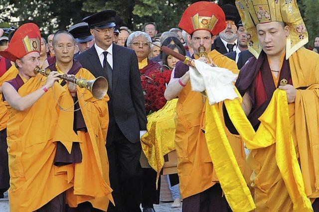 Buddhistische Trauer in Renchen