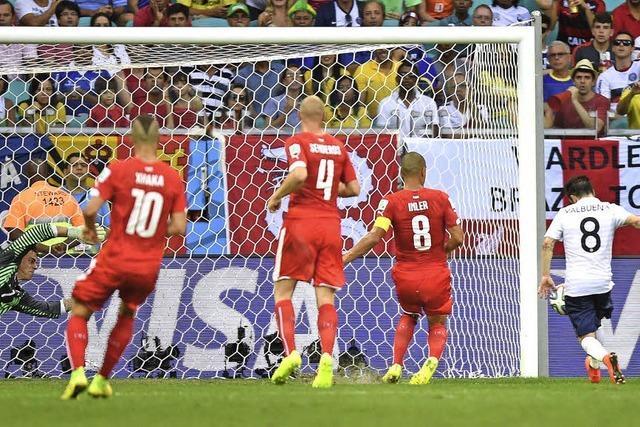 Franzosen deklassieren die Schweiz mit 5:2