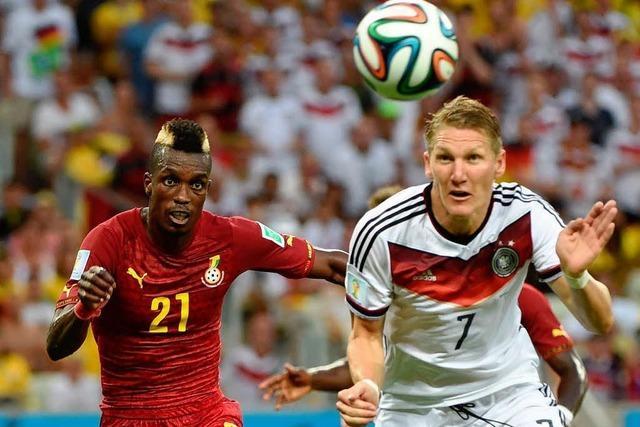 2:2 gegen Ghana: Deutsches Team verpasst den zweiten Sieg – Joker Klose trifft
