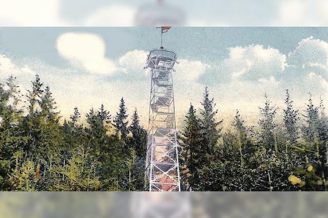 Vor 125 Jahren wurde der Roßkopfturm eingeweiht