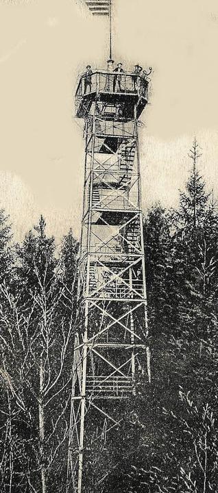 Freiburg, Rosskopfturm, historisch  | Foto: Archiv Hans Sigmund