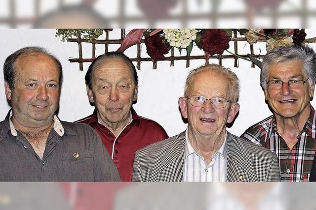 Josef Steinhauer seit 65 Jahren dabei