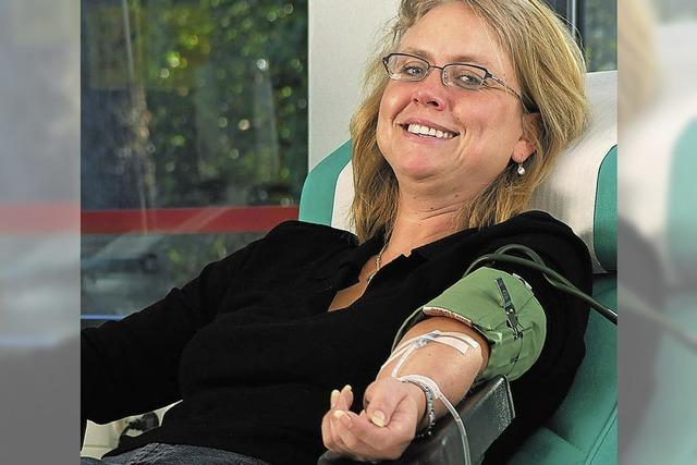 Blutspenden hilft Leben retten
