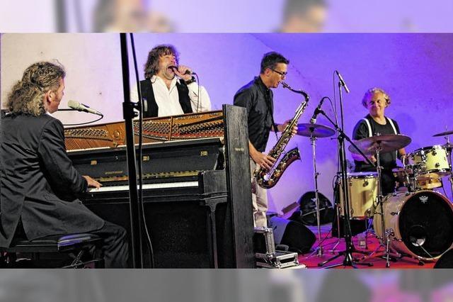 Bizarre Klänge bei Jazz im Schloss