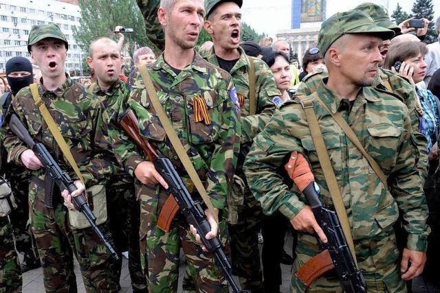 In der Ostukraine toben Kämpfe – trotz Waffenruhe