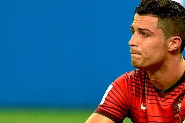 Glückliches 2:2 gegen USA: Portugal fast schon draußen