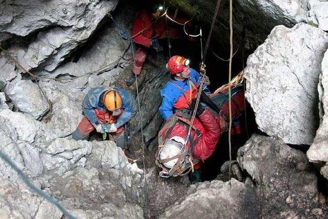 Höhlenforscher Johann Westhauser gerettet