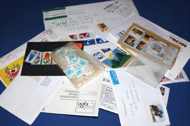 Briefmarkengruppe für Kinder in Breisach