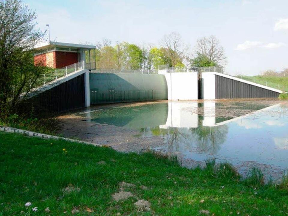 Ein überfluteter Bereich   | Foto: Privat