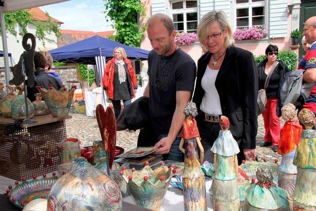Künstlertage in Burkheim mit mehr als 70 Ausstellern