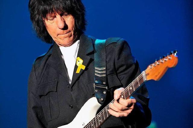 Jeff Beck sagt Tour und ZMF-Auftritt ab