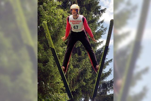 Tim Modricker springt in Bad Griesbach aufs Podium