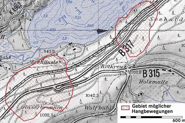 Seesteige auf der B 317 wird für drei Monate zur Baustelle
