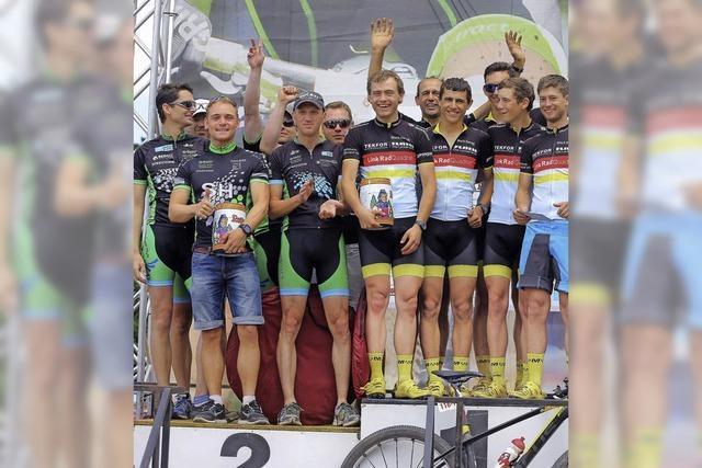 Im Team aufs Podium beim Bike-Marathon