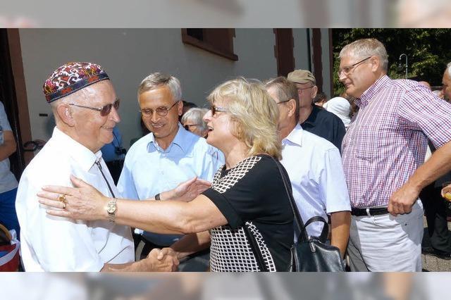 Feiern mit Alfons Haidlauf