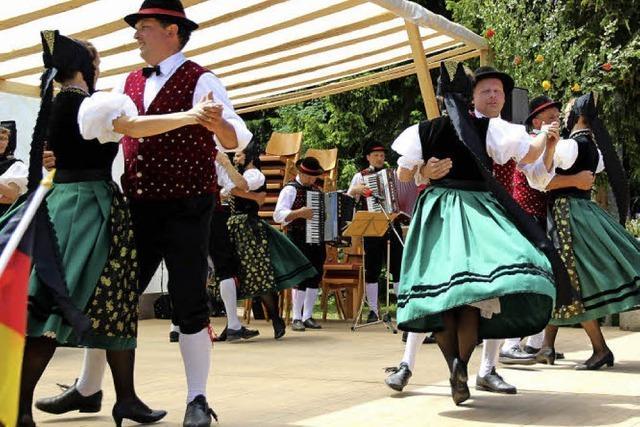 Walzer feiert beim Waldfest Premiere