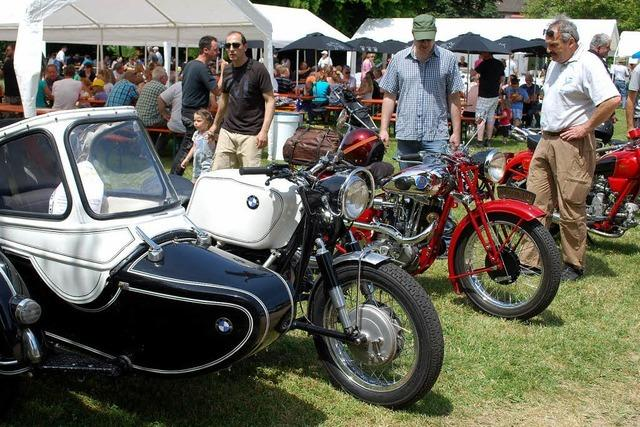 Altstars der Motorradszene