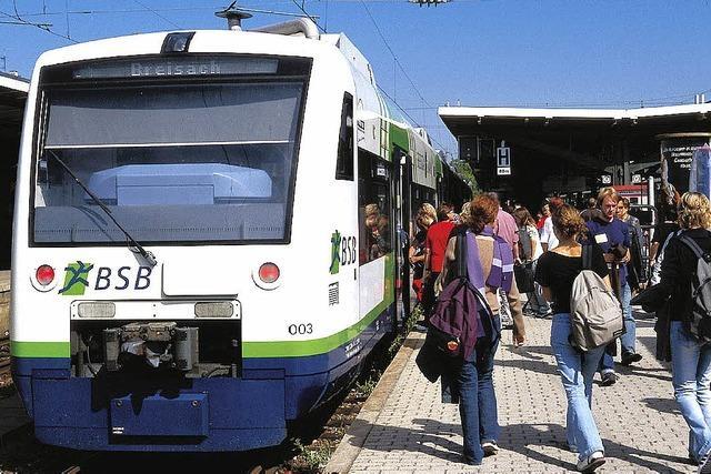 Neue Informationen über den Ausbau der Kaiserstuhlbahn West