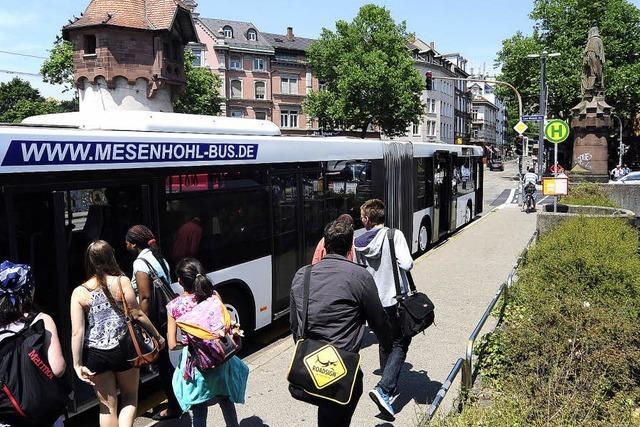 Ferienende - das bedeutet: Erster Ansturm auf die Ringbusse