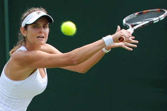 Wimbledon: Görges und Brown scheiden aus