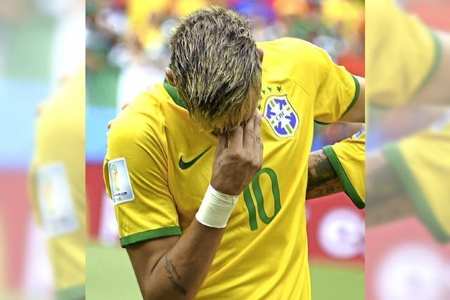 So weltmeisterlich weinen Fußballstars