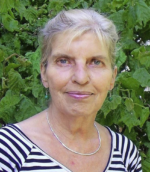Vorsitzende des Kunstvereins, Ulrike Bach  | Foto: Andrea Steinhart