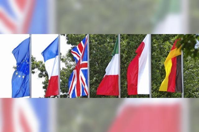 Ein Fest für die Freunde aus Europa